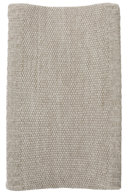 Aankleedkussenhoes Relief Mixed - Zand - 50x70cm