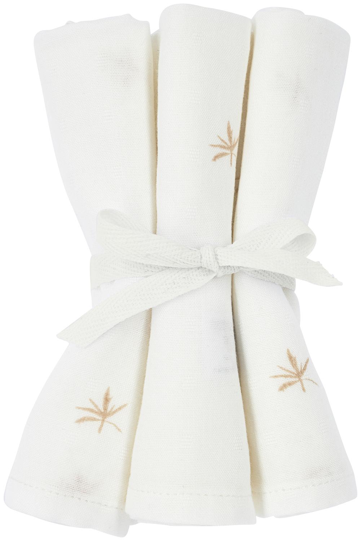 Meyco X Mrs. Keizer 3-pack Bamboe Washandjes Ibiza - Warm Sand - 20x17 cm