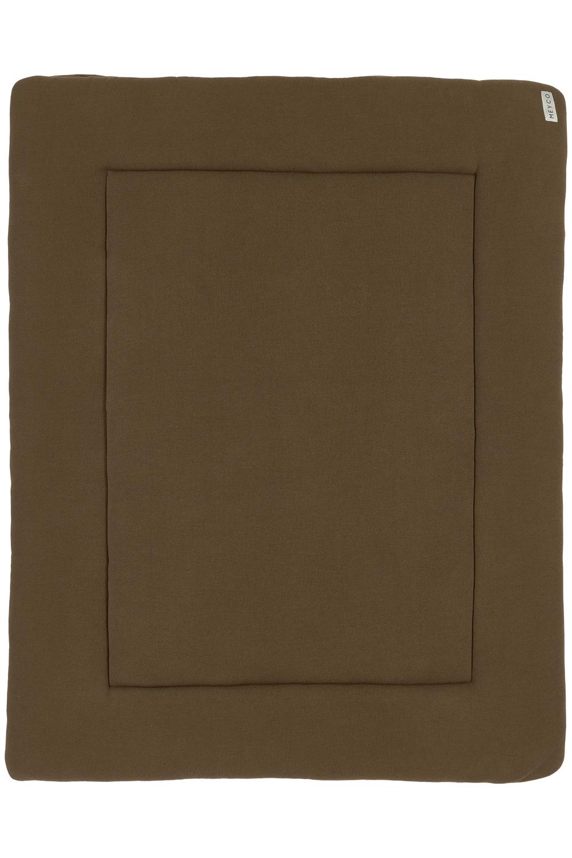 Laufgittereinlage Knit Basic - Chocolate - 77x97cm