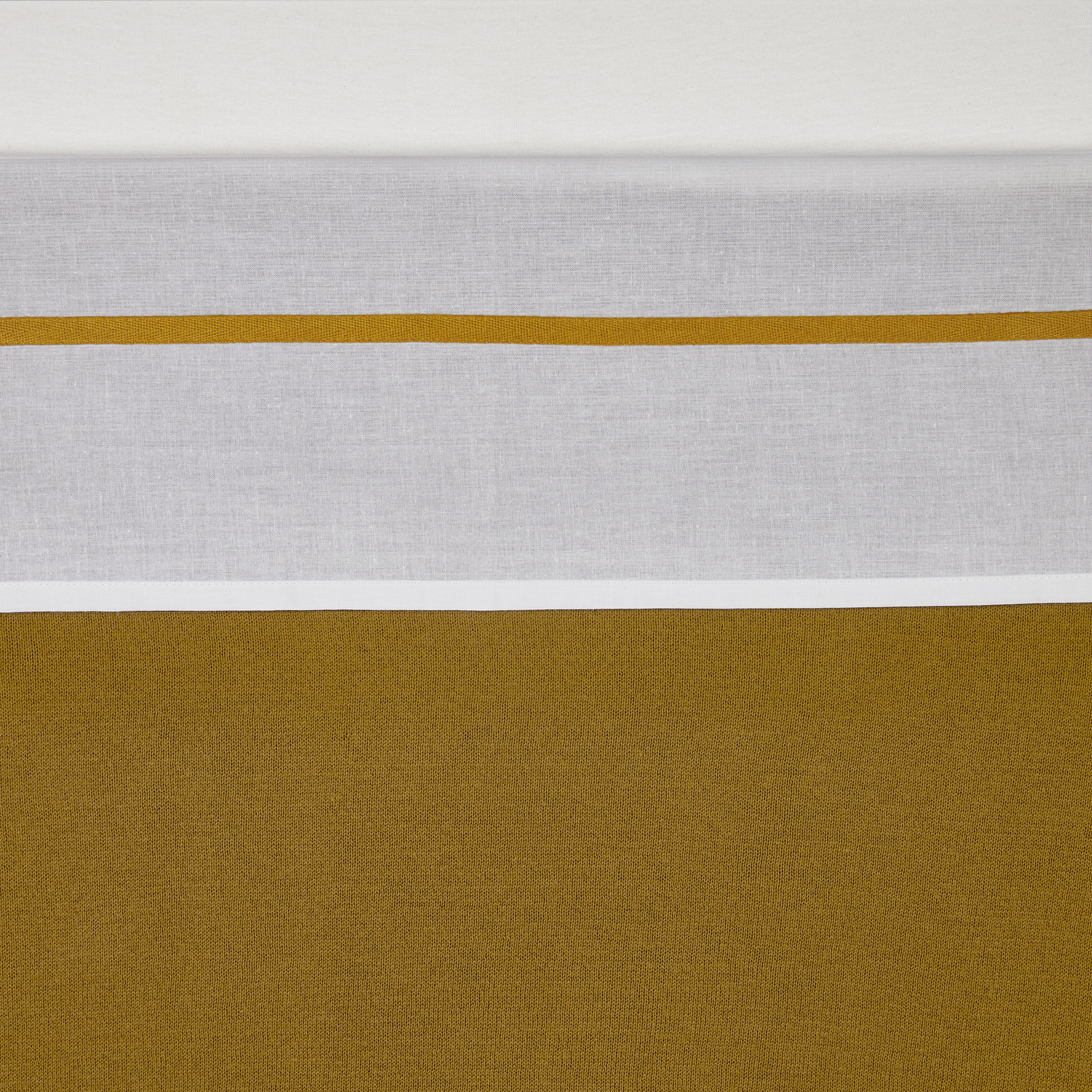 Wieglaken Bies - Honey Gold - 75x100cm