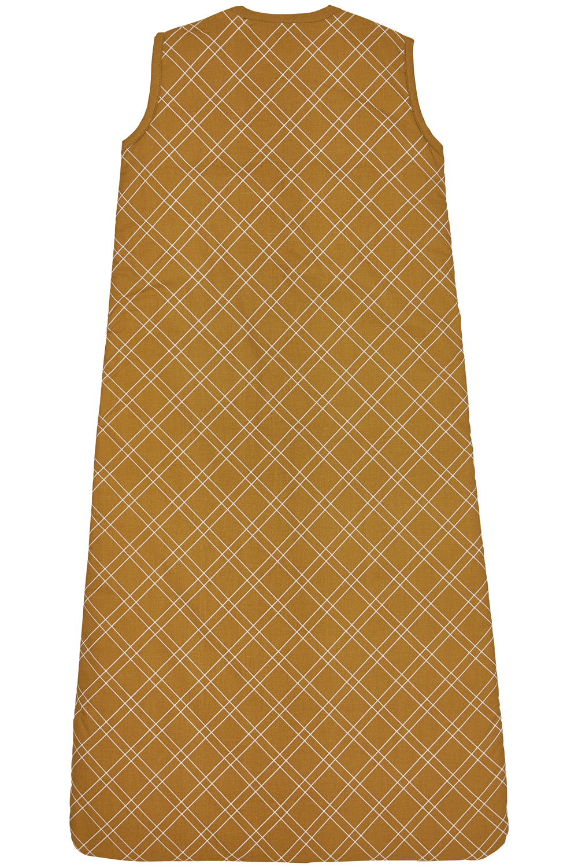 Babyslaapzak Gevoerd Double Diamond - Honey Gold - 110cm