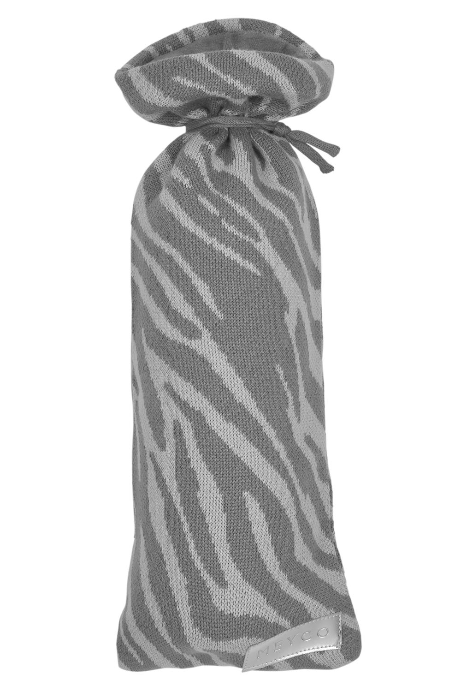Kruikenzak Zebra - Grijs - 13xh35cm