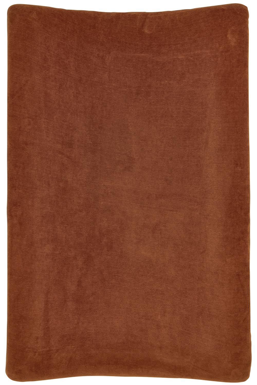Aankleedkussenhoes Velvet - Camel - 50x70cm