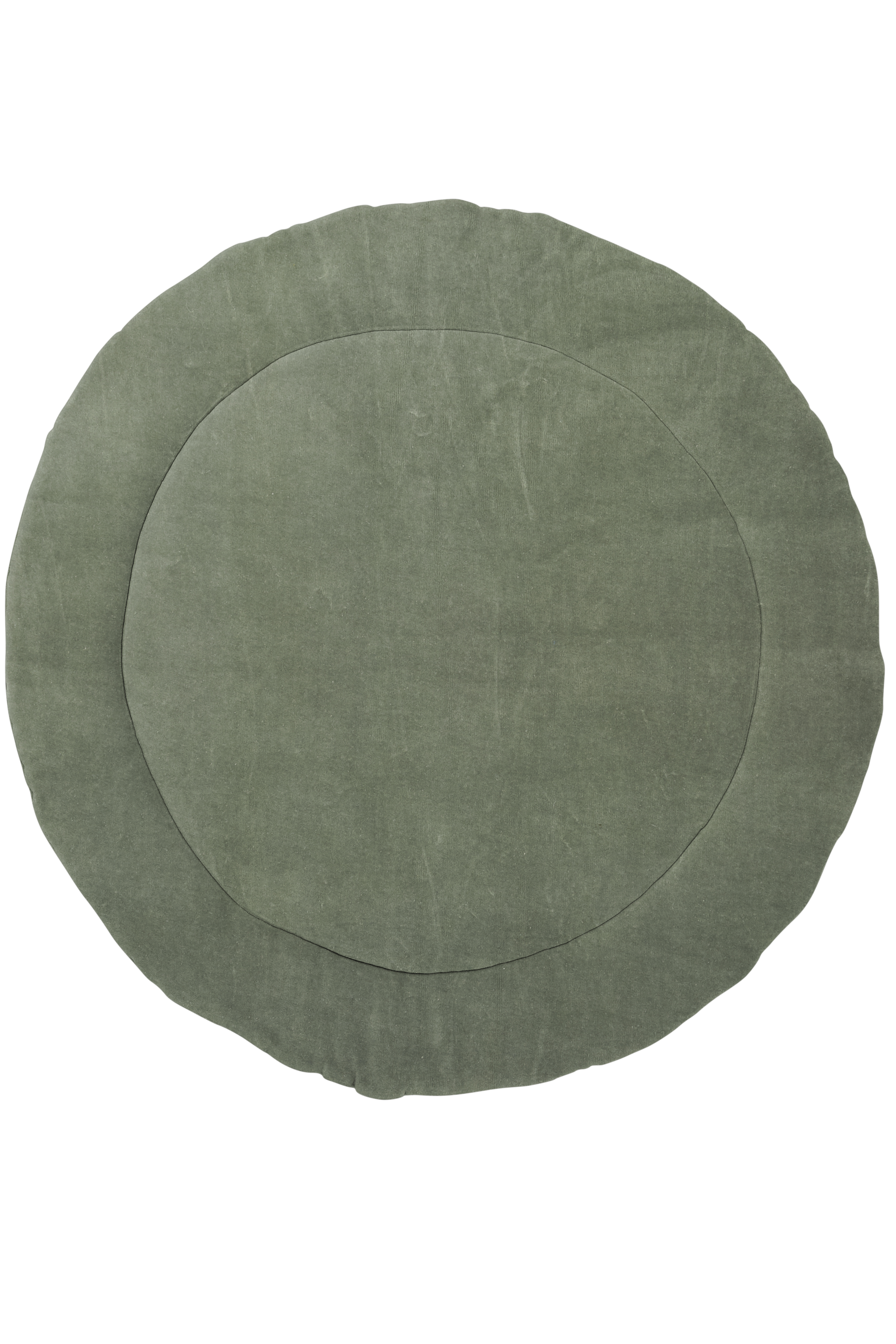 Boxkleed Rond Knit Basic - Forest Green - 95cm