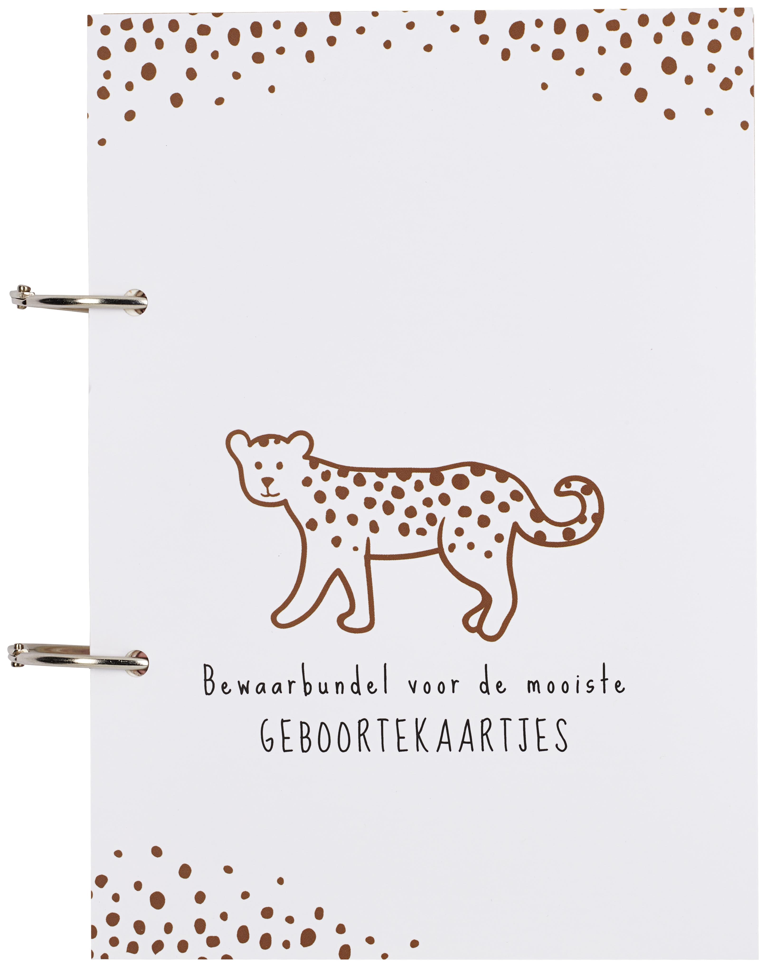 Geboortekaartjesbundel Cheetah - Camel