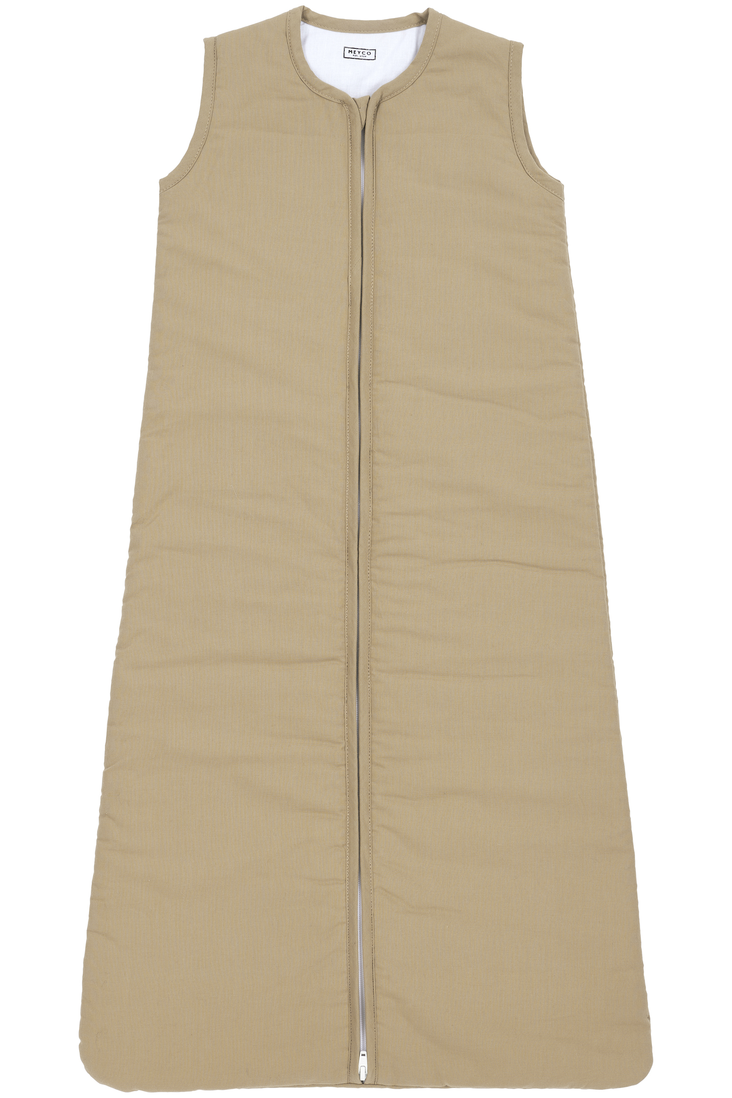 Schlafsack Gefüttert  Uni - Taupe - 90cm