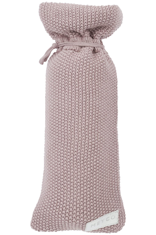 Biologische Wärmflaschenbezug Mini Relief - Lilac - 9xh35cm
