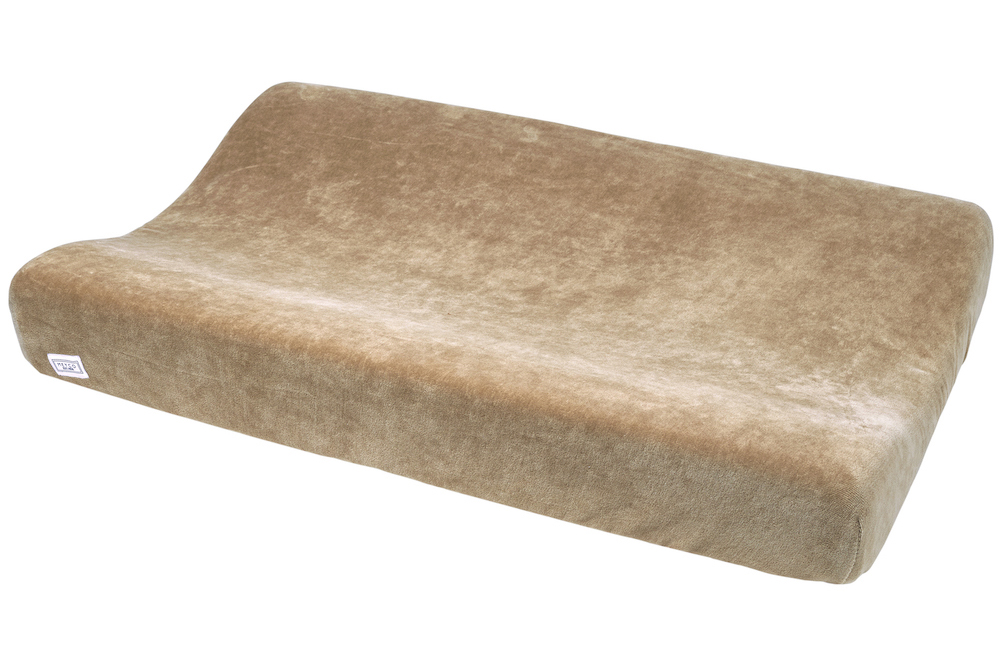 Wickelauflagenbezug Velvet - Taupe - 50x70cm