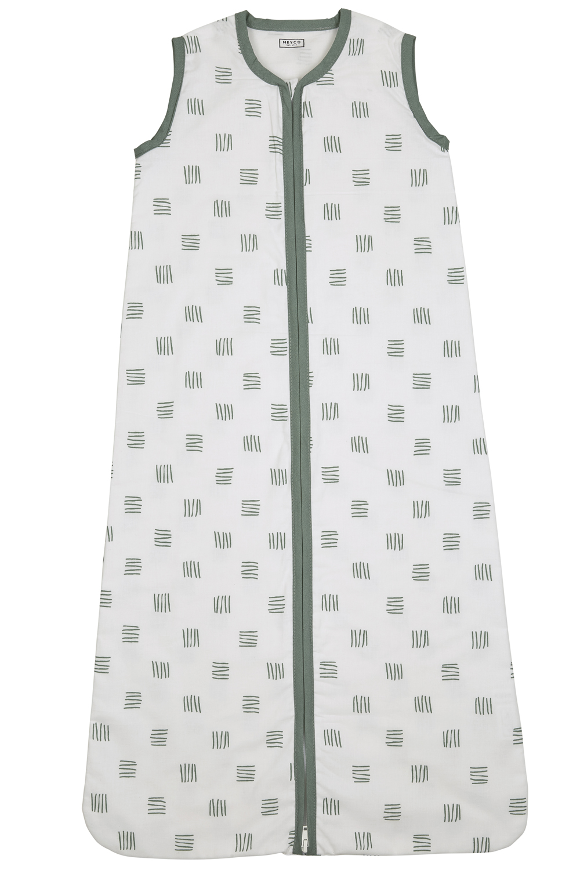 Zomerslaapzak Block Stripe - Forest Green - 90cm