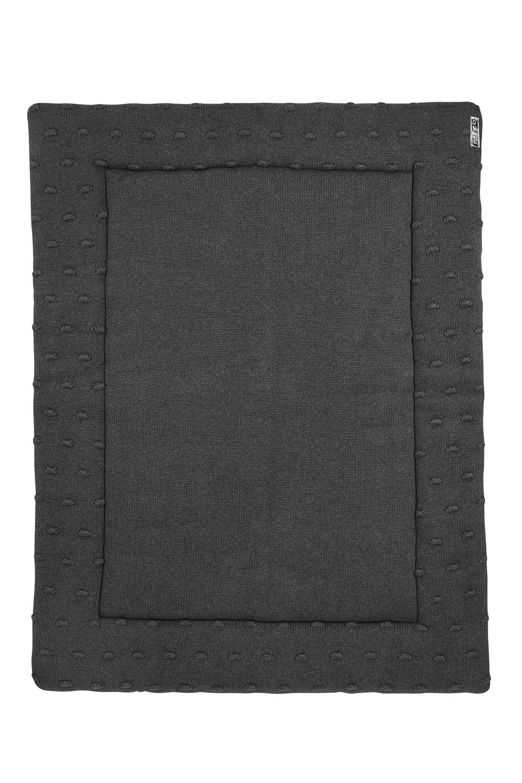Boxkleed Knots - Antraciet - 77x97 cm