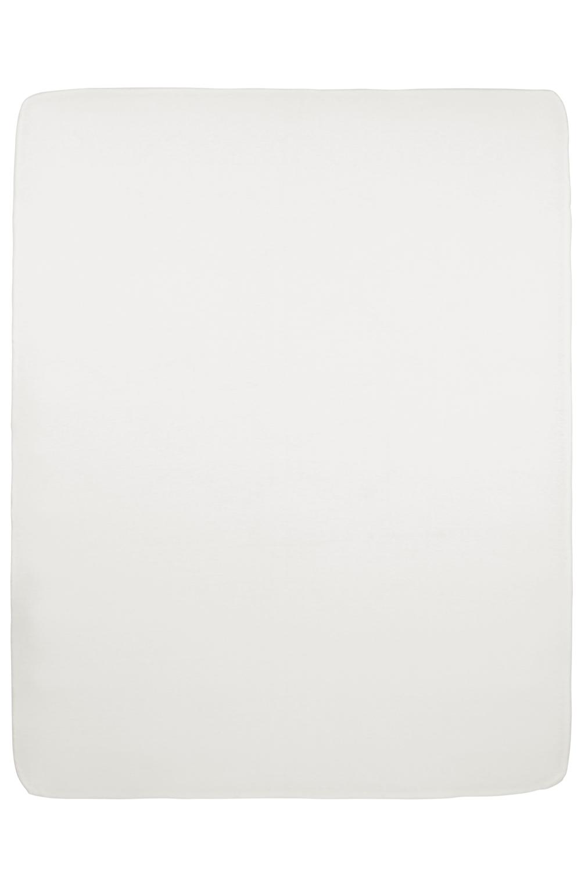Jersey Hoeslaken Boxmatras - Offwhite - 75x95cm