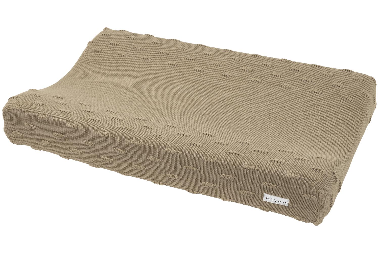Wickelauflagenbezug Knots - Taupe - 50x70cm