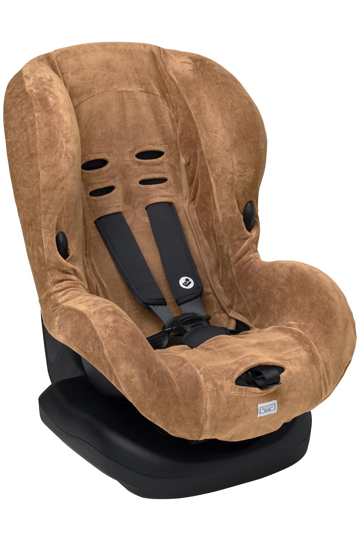 Car Seat Cover Velvet - Warm Sand - Group 1