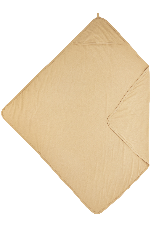 Kapuzentuch Basic Jersey - Warm Sand - 80x80cm