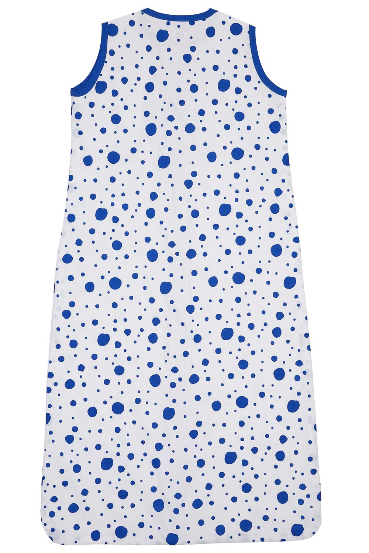 Zomerslaapzak Dots - Bright Blue - 70cm