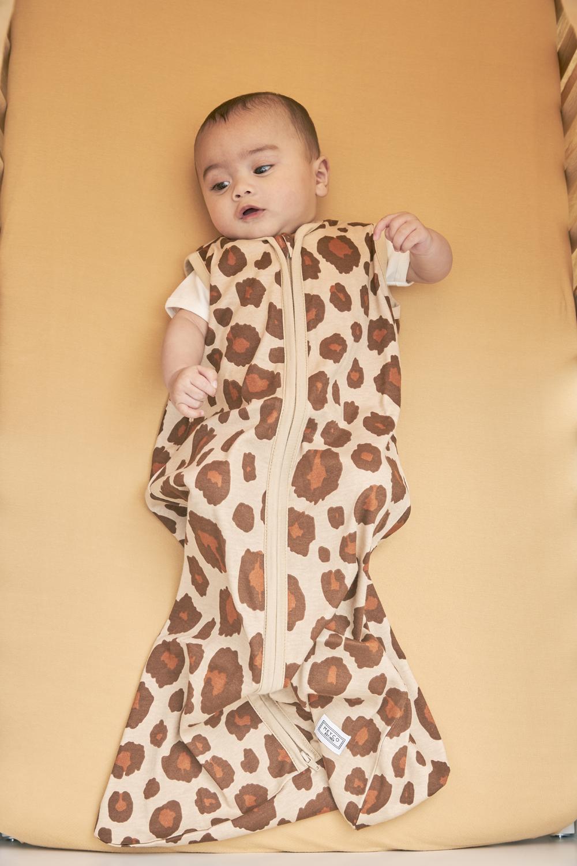 Babyslaapzak Panter - Camel - 110cm