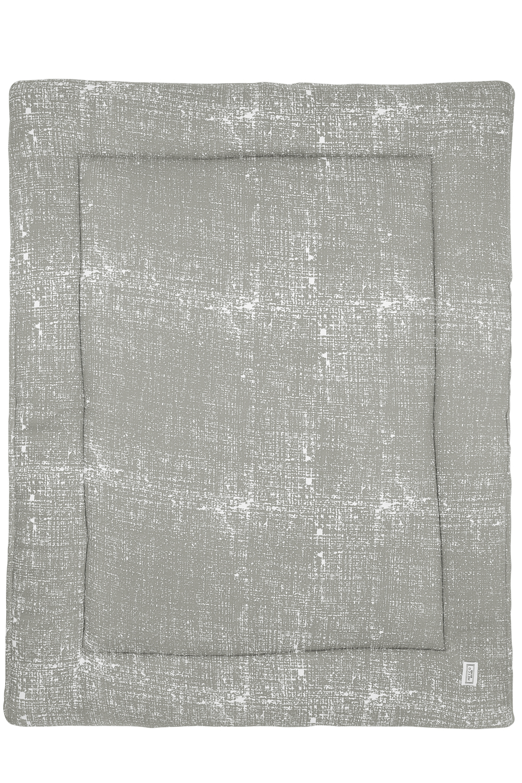 Laufgittereinlage Fine Lines - Hellgrau - 77x97cm