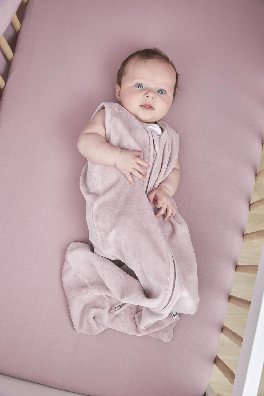 Babyslaapzak Velvet - Lilac - 70cm
