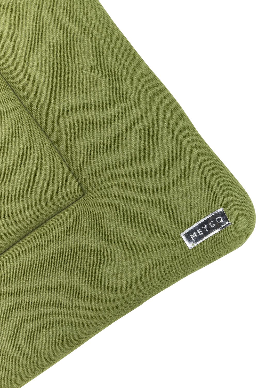 Boxkleed Knit Basic - Avocado - 77x97cm