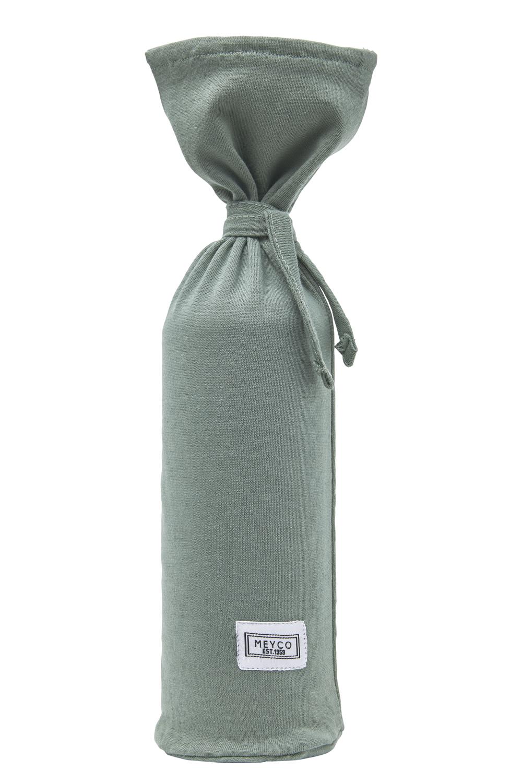 Wärmflaschenbezug Basic Jersey - Forest Green - 13xh35cm