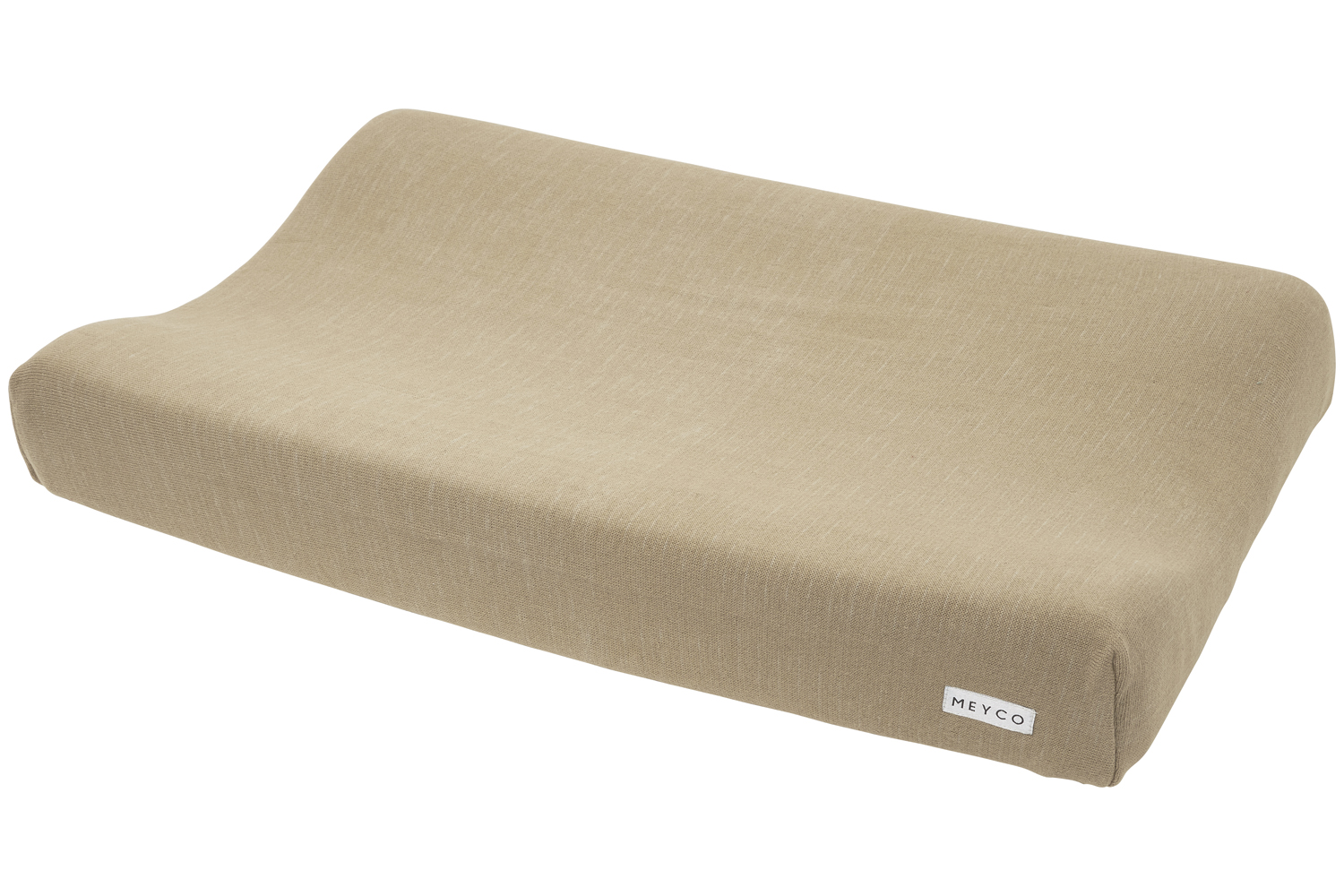 Aankleedkussenhoes Knit Basic - Taupe - 50x70cm