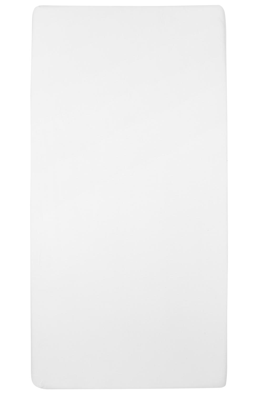 Jersey Hoeslaken - Wit - 90x200cm