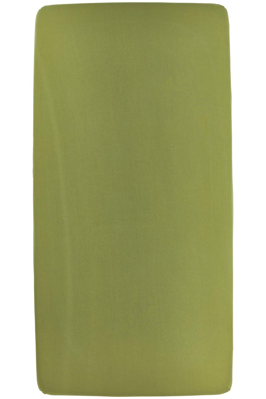 Jersey Hoeslaken - Avocado - 70x140/150cm