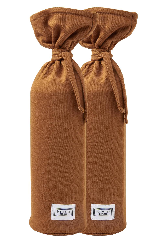 Kruikenzak Basic Jersey 2-Pack - Camel - 13xh35cm