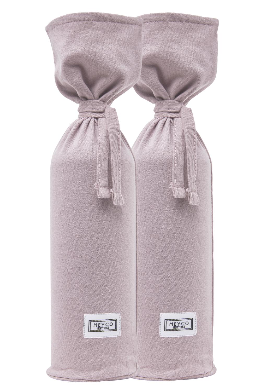 Wärmflaschenbezug 2-Pack Basic Jersey - Lilac - 13xh35cm