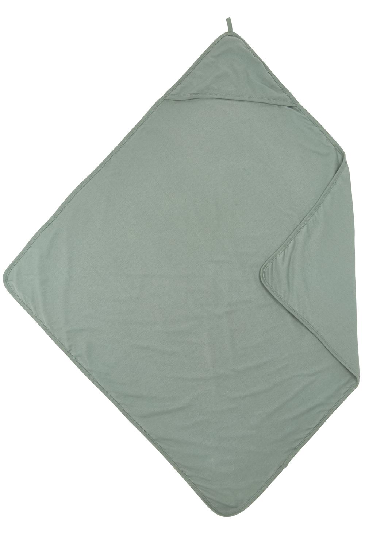 Badcape Basic Jersey - Stone Green - 80x80cm
