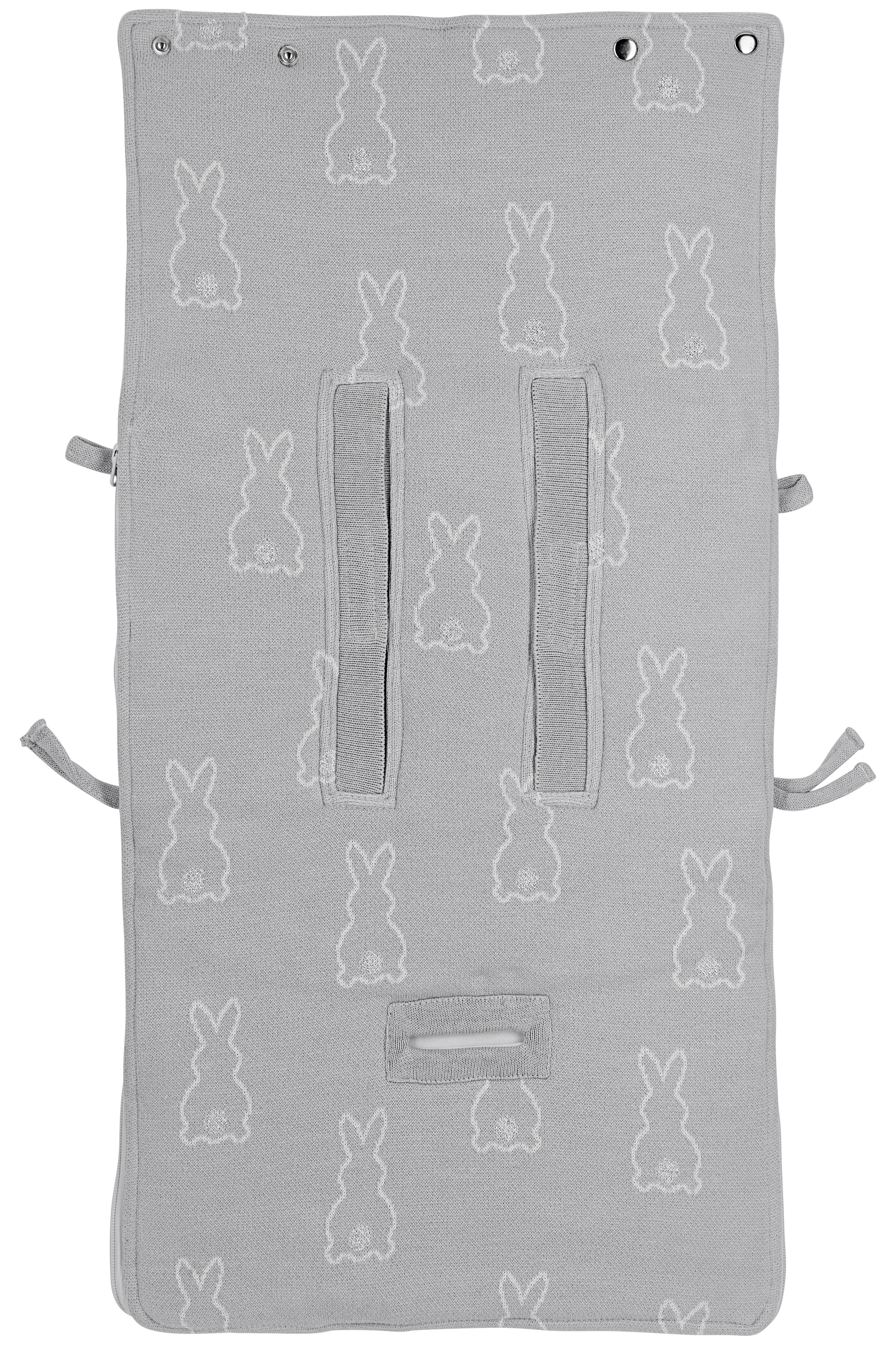 Meyco X Mrs. Keizer Voetenzak Rabbit - Silver