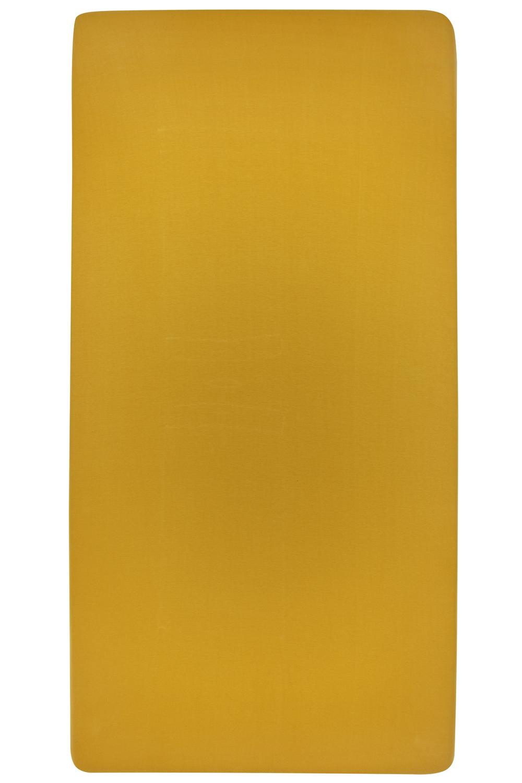 Jersey Hoeslaken - Okergeel - 70x140/150cm
