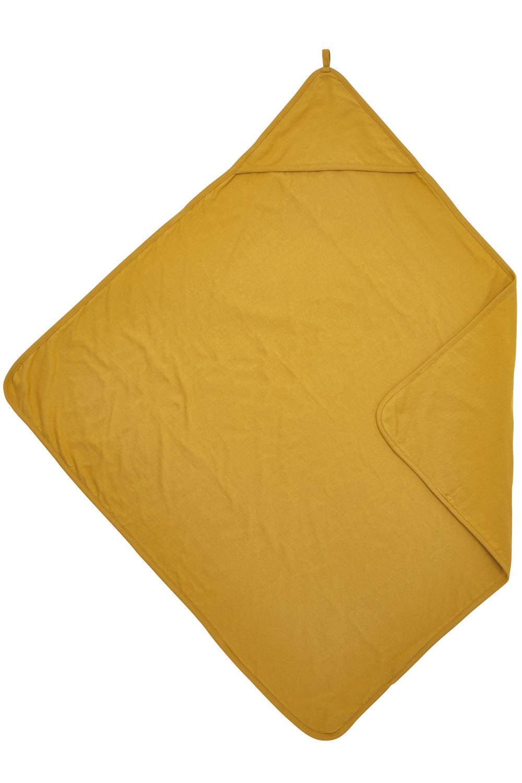 Badcape Basic Jersey - Okergeel - 80x80cm