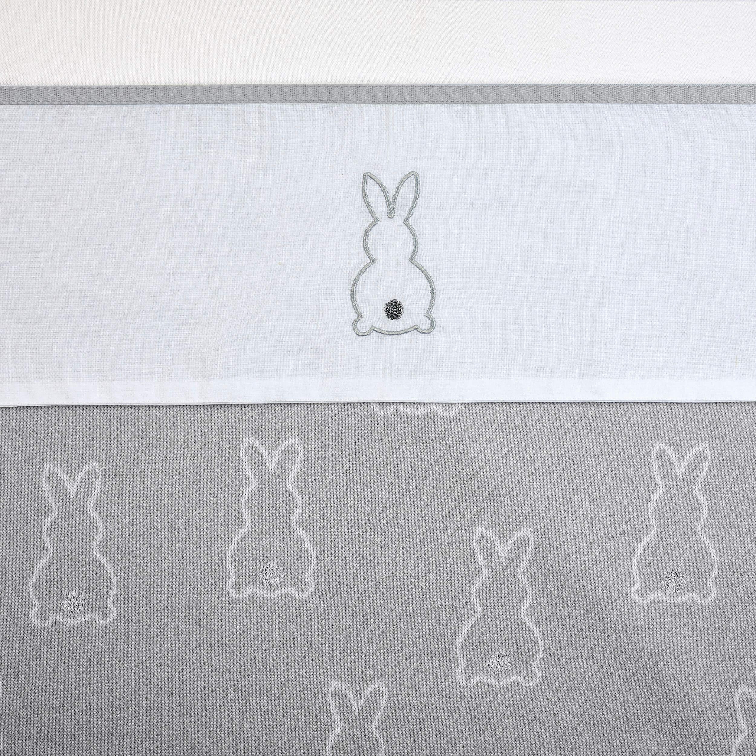 Meyco X Mrs. Keizer Wieglaken Rabbit - Silver