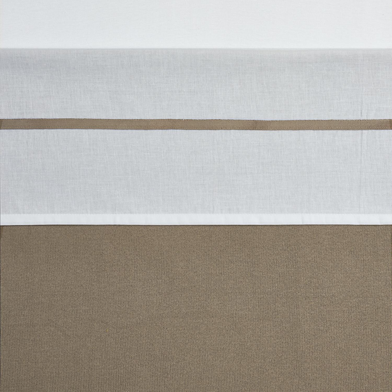 Wieglaken Bies - Taupe - 75x100cm