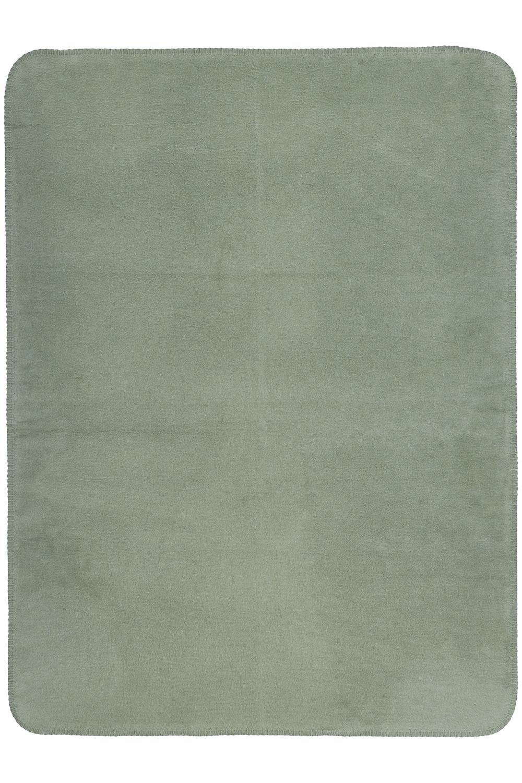 Ledikantdeken Uni - Forest Green - 100x150cm