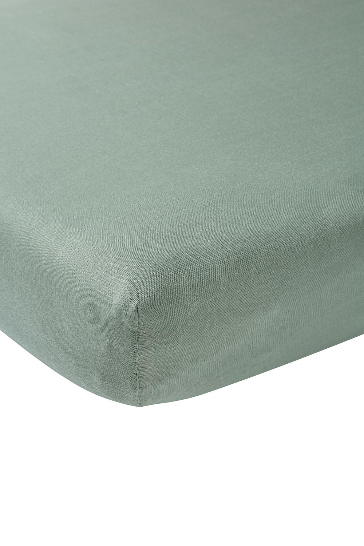 Jersey Hoeslaken - Stone Green - 70x140/150cm