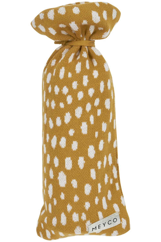 Wärmflaschenbezug Cheetah - Honey Gold - 13xh35cm