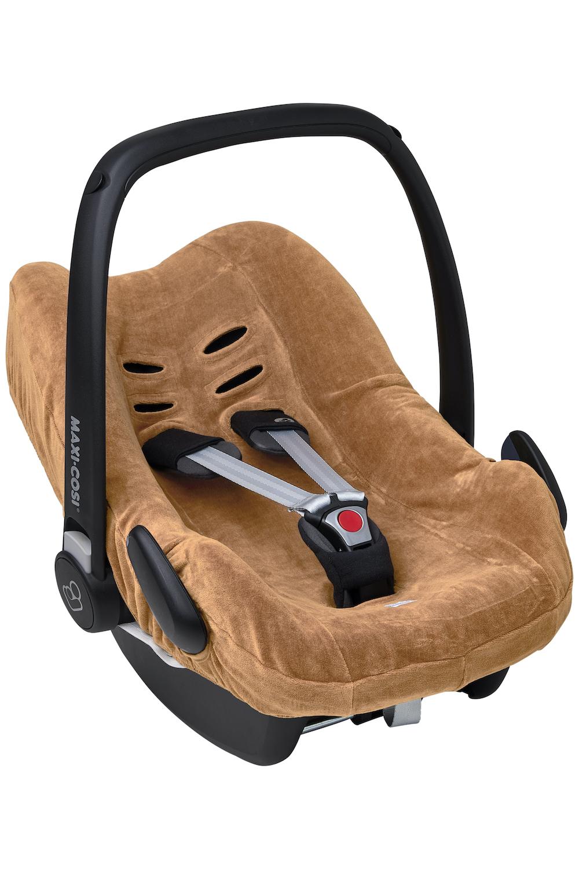 Car Seat Cover Velvet - Warm Sand - Group 0