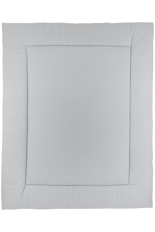 Boxkleed Uni - Grijs/Lichtgrijs - 80x100cm