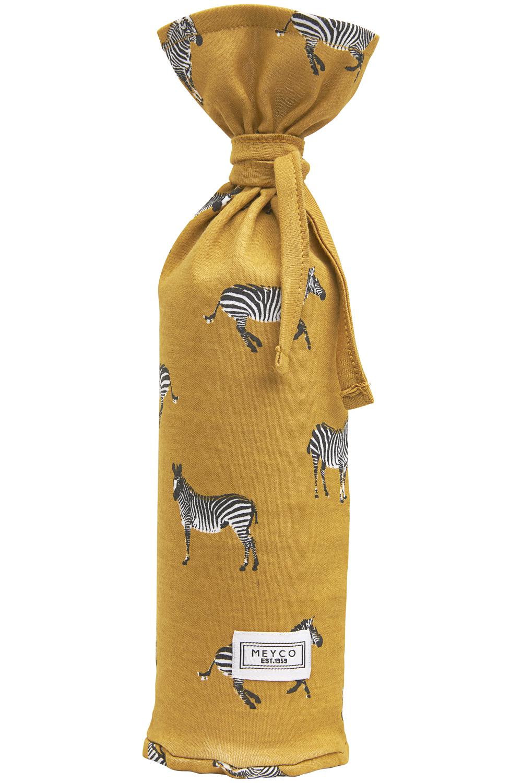 Wärmflaschenbezug Zebra Animal - Honey Gold - 13xh35cm