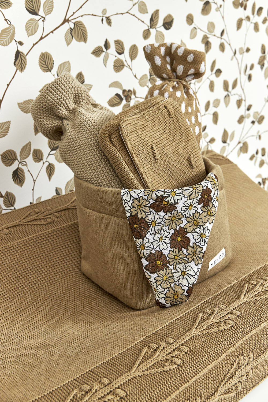 Commodemand Medium Knit Basic - Taupe - 26x19xh16cm