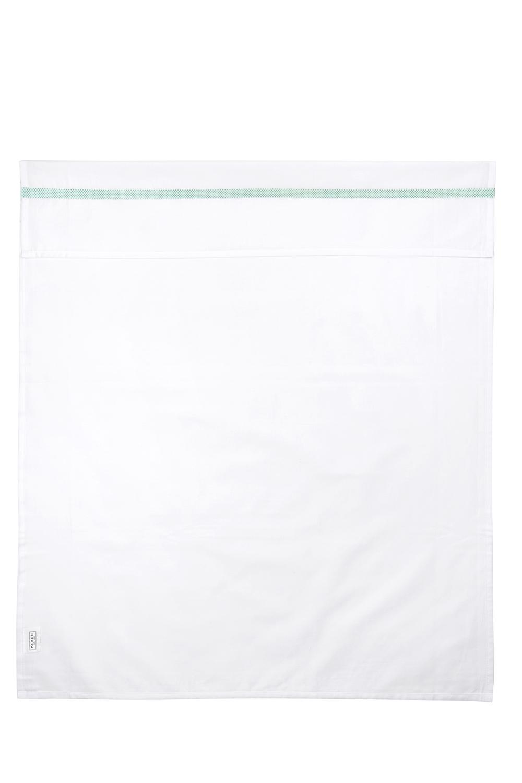 Wieglaken Bies Stip - New Mint/Wit - 75x100cm