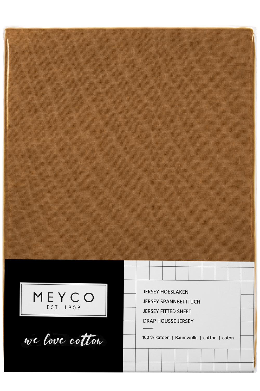 Jersey Hoeslaken - Camel - 70x140/150cm