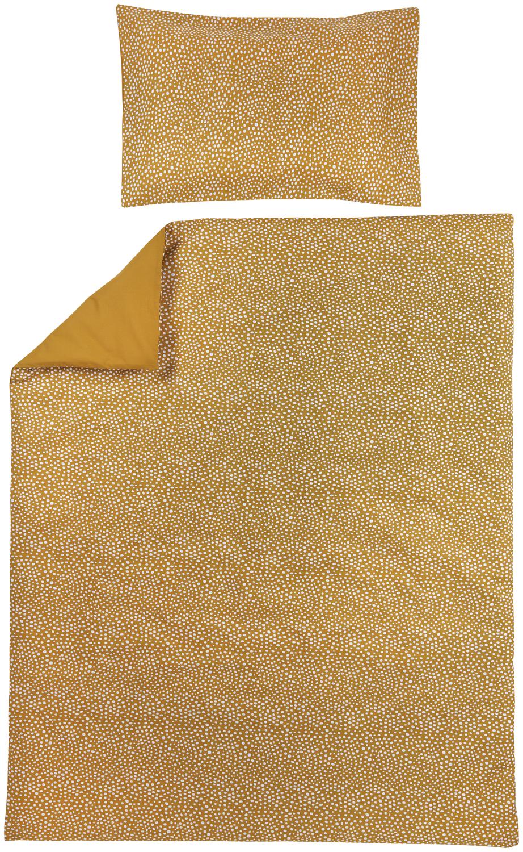 Dekbedovertrek + Kussensloop Cheetah/Uni - Honey Gold - 120x150cm