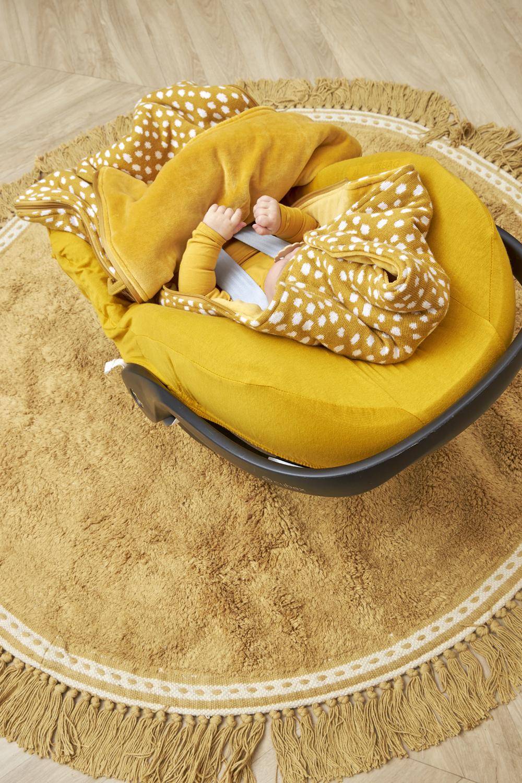 Voetenzak Cheetah - Honey Gold - 40x82cm
