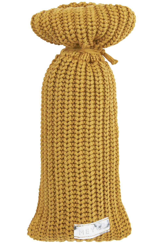 Wärmflaschenbezug Herringbone - Honey Gold - 13xh35cm