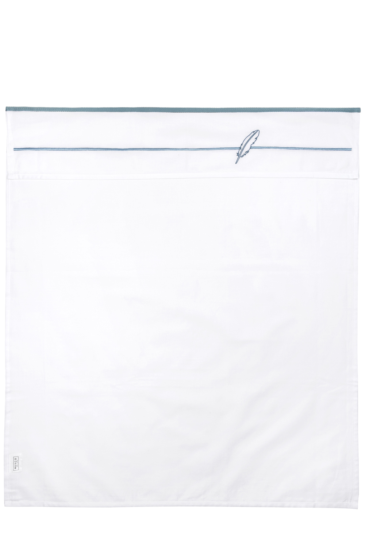 Ledikantlaken Feathers - Stone Green - 100x150cm