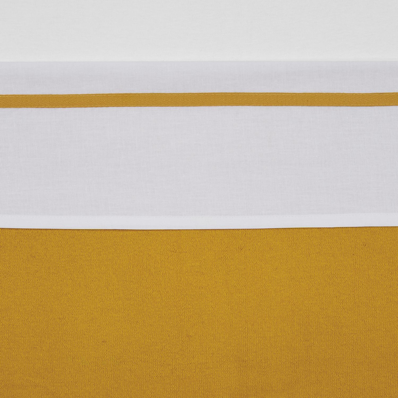 Wieglaken Bies - Okergeel - 75x100cm