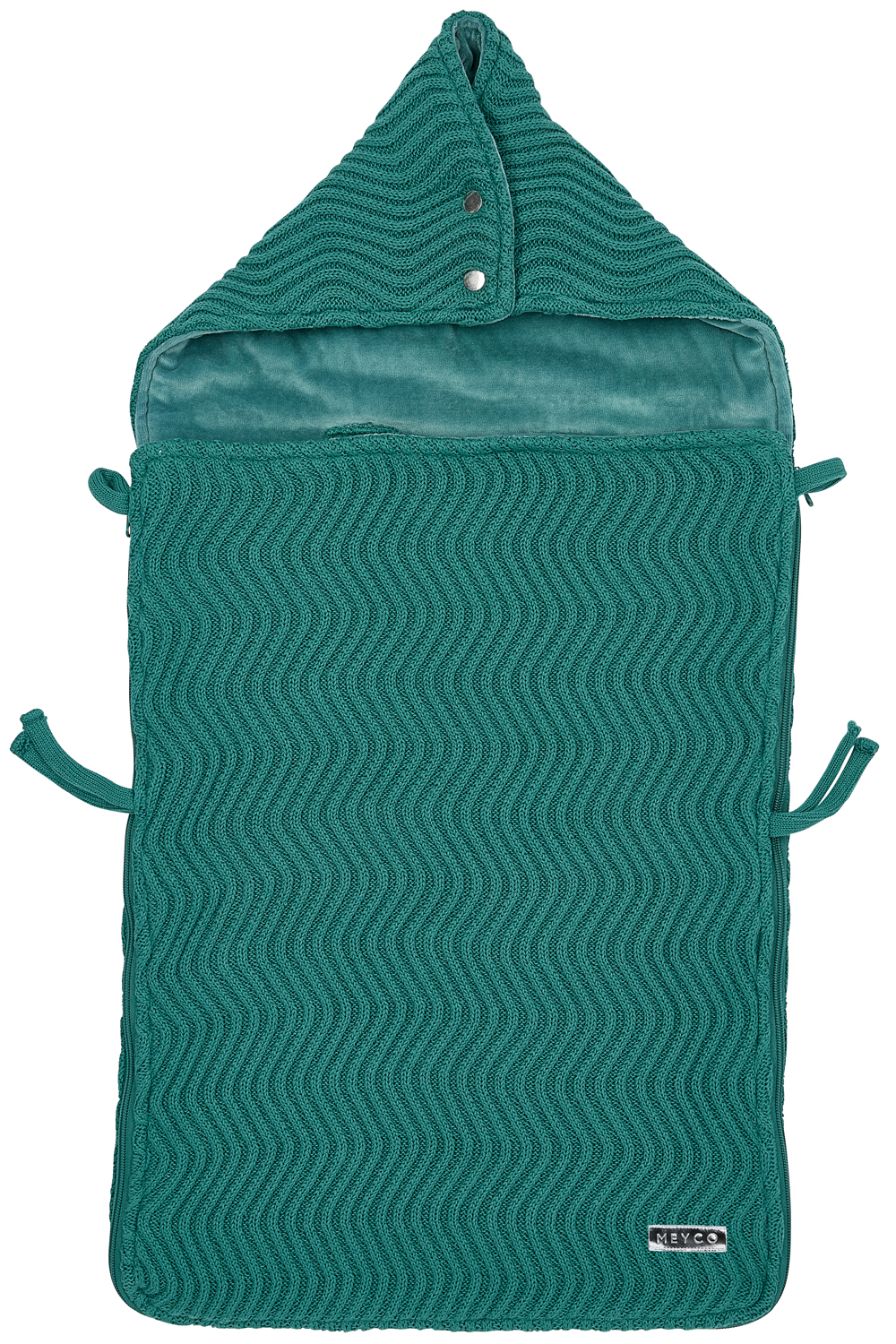 Fußsack The Waves - Emerald Green - 40x82cm